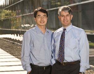Michael Longaker, MD and Jospeh Wu, MD and PhD